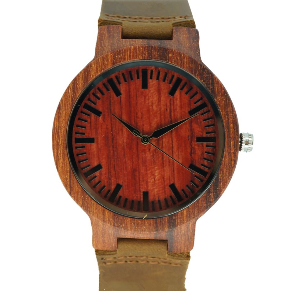 PENGNATATE Wooden Watches Men Genuine Leather Watchband Natural Bamboo Wood Wristwatch Unique Design Hotsale Gifts Couple Watch hand made mens wooden bamboo quartz watch black genuine leather watchband simple unique modern wristwatch gift for male female