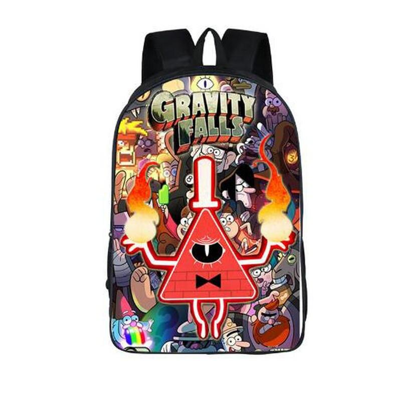 Cartoon Gravity Falls Backpack For Teenage Girls Children School Bags Dipper Mabel Backp ...