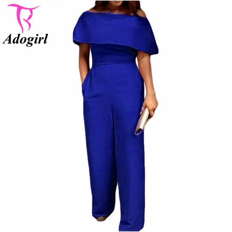 Online Get Cheap Royal Blue Jumpsuit -Aliexpress.com | Alibaba Group