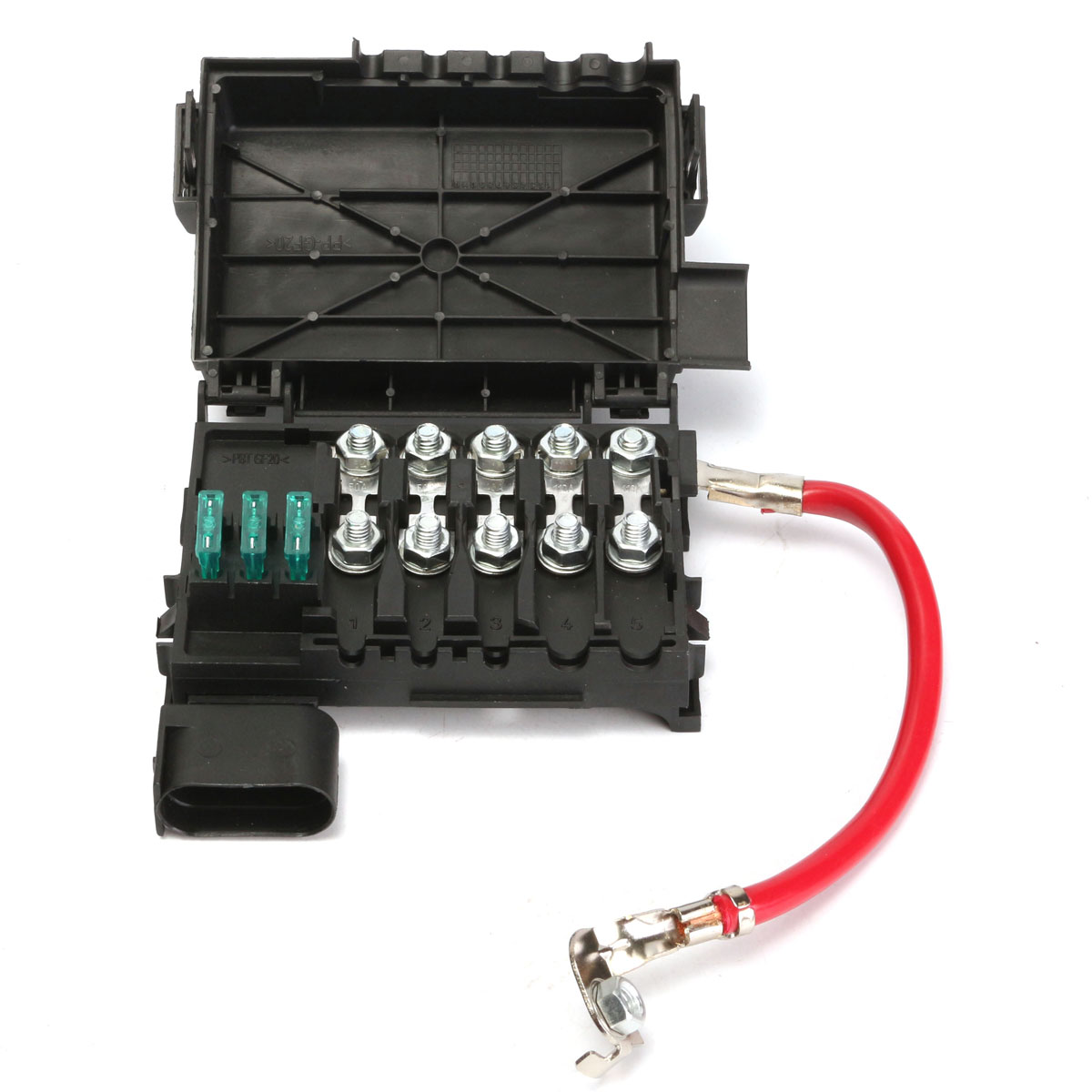 Fuse Box Battery Terminal Insurance Tablets For Vw Jetta Golf Mk4 19992004  1j0937550a(