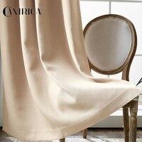 CANIRICA Blackout Curtains For Living Room Window Sheer Curtains Blending Curtains For Bedroom Rideaux Pour Le Salon Home Decor
