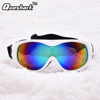 Men Women Single Layer Anti Fog Motorcycle Dustproof Ski Snowboard Sunglasses Goggles Lens Frame Eye Glasses