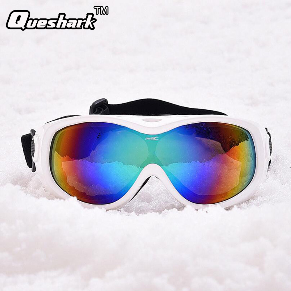 Men Women Single Layer Anti fog Ski Glasses Dustproof ...