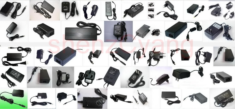 Adaptador de alimentación de RU de producción 3V 4,5 V 5V 6V 7,5 V 8V 9V 9,5 V 10V 12V 14V 15V 18V 24V 29V 36V 48V 48V 1A 1.5A 2A 2.5A 3A 4A-in Adaptadores AC/DC from Mejoras para el hogar on AliExpress - 11.11_Double 11_Singles' Day 1