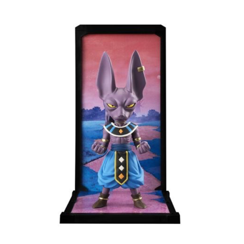 Dragon Ball Z Tamashii Nations Buddies Beerus Figure 023 Collectible Mascot Toys 100% Original прорезыватель детский u s brush buddies brush buddies