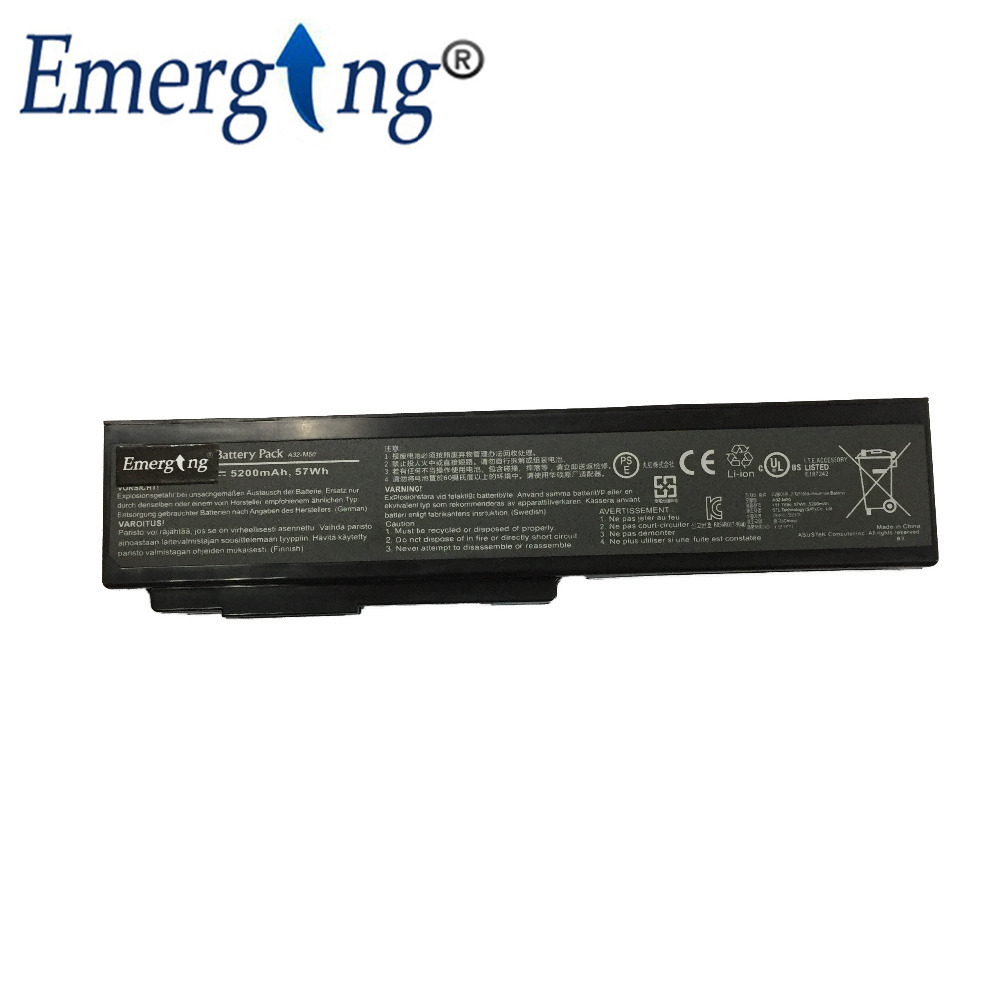 New Battery Compatible for Asus N53S A32-N61 A32-M50 N53J N43J N43S N61JQ N43JF N43JQ N43SD N53Jf N53Jg Battery Replacement 6 Cell 4400mAh