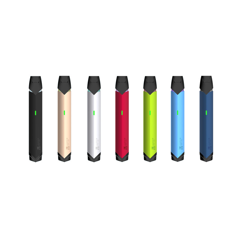 Vape pen Electronic cigarette Vaptio SOLO FLAT MINI kit 260mAh Built-in vapor 12W vaporizer POD vape 1.5ohm Patent ceramic Coils