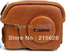 Highest quality style PU Leather Camera Case bag unique for Canon G12G15G1X