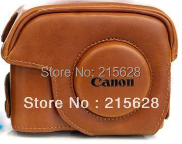 Best quality fashion PU Leather Camera Case bag special for Canon G12 G15 G1X
