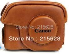Лучшее качество мода PU Кожаный Чехол для Камеры сумка специально для Canon G12 G15 G1X