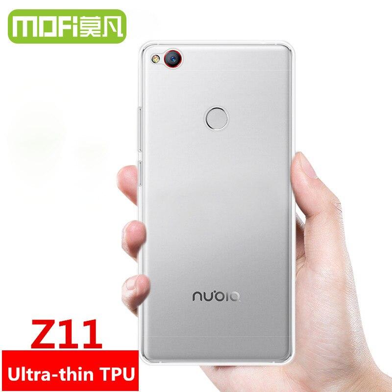 Nubia Z11 fall MOFi original ZTE Nubia Z11 820 fall abdeckung TPU fall silicon cover-rückseite 6 gb 128 gb 64 gb phone cases coque funda 5,5