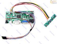 HDMI + DVI + VGA LCD Lvds Driver Do Controlador Board Diy Kit para B156XW03 V2 V.2 1366X768
