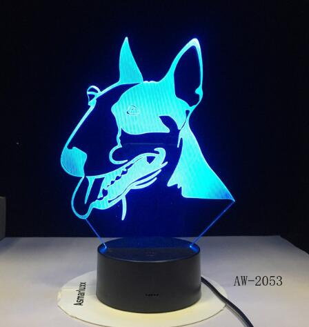 ZTOP 3D Kangaroo 3D Night Light Table Desk Optical Illusion Lamps 7 Color Changing Lights ZTOP®