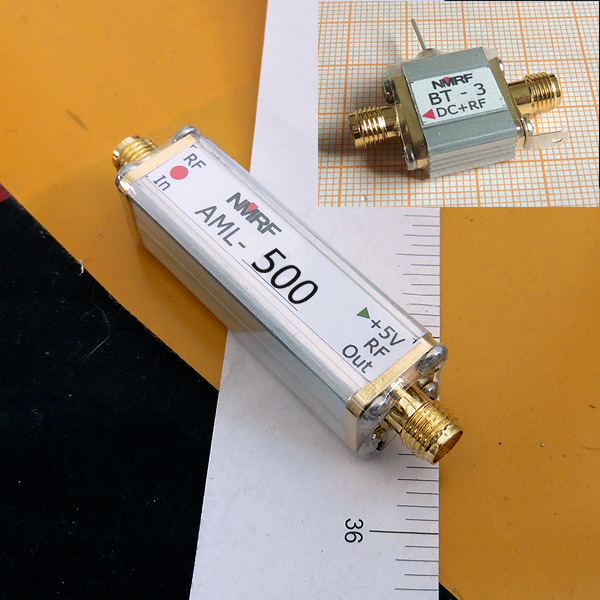 COFDM, DVB-T 450 ~ 600MHz low noise amplifier LNA coaxial feed modeCOFDM, DVB-T 450 ~ 600MHz low noise amplifier LNA coaxial feed mode