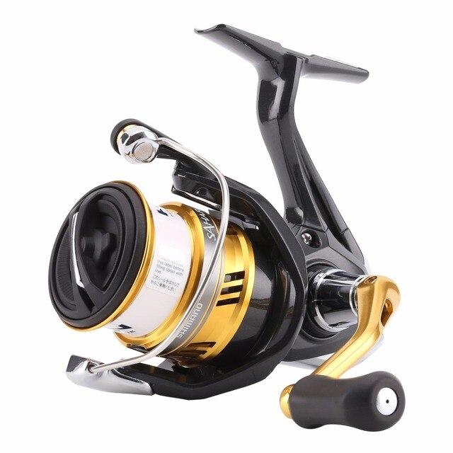 5ee48431f21 100% Original Shimano SAHARA FI C2000HGS 2500HGS C2000S Spinning Fishing  Reel 4+1BB 6.0