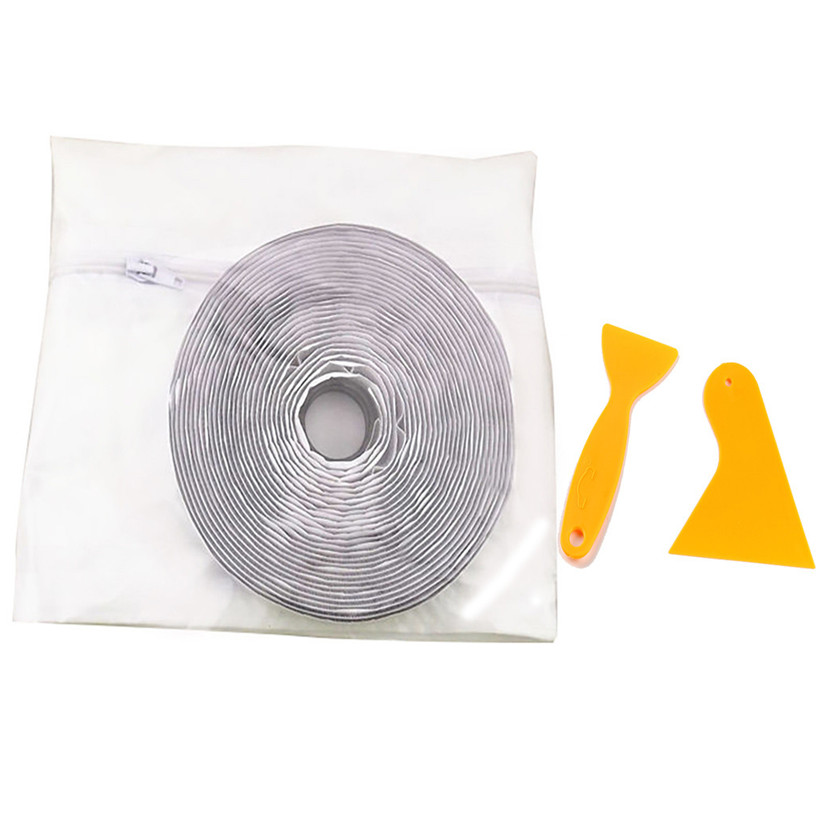 4M Window Sealing For Mobile Air Conditioners Waterproof Window Sealing Device With 2xTape scraper Air Conditioners Dryers 0711#