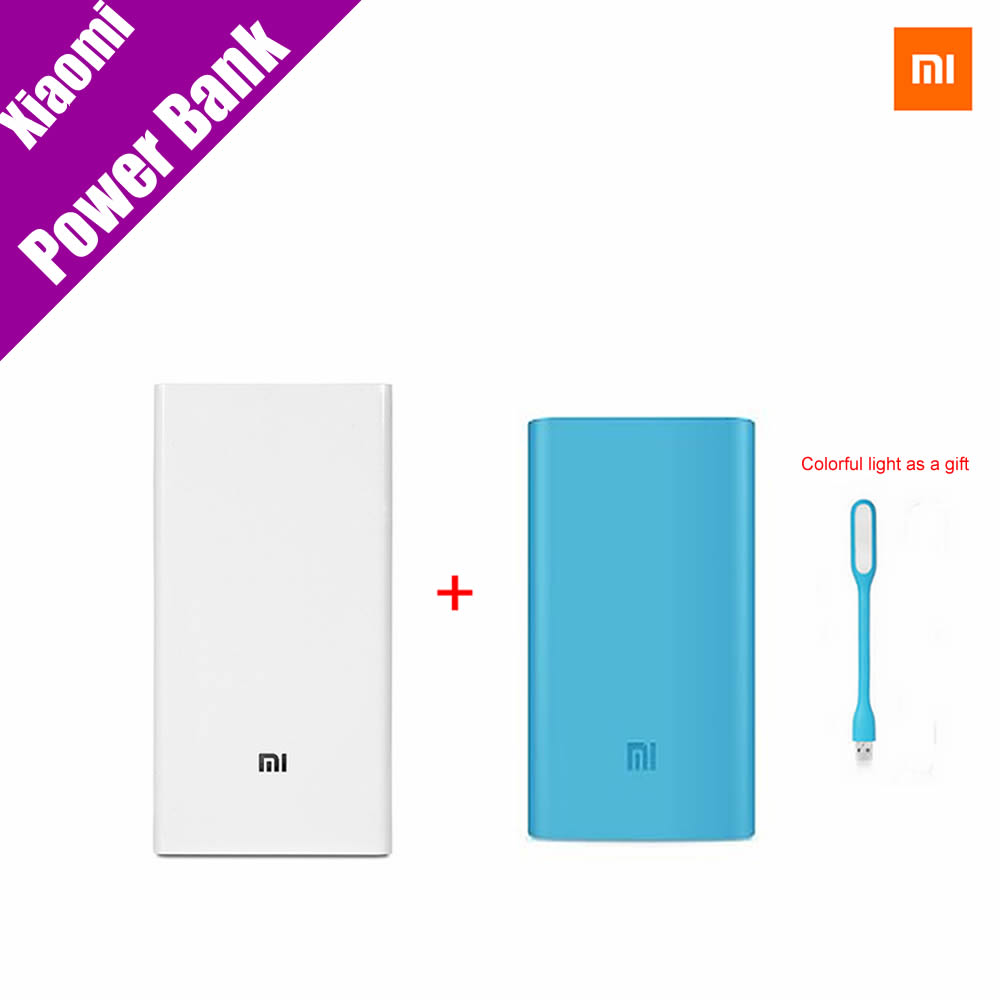 Original Xiaomi Mi Power Bank 20000mAh New Portable Mobile ...