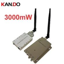 Ventilação desgin 3 W made in Taiwan, zangão 1.2G Sem Fio transceptor, 1.2G Transmissor Audio Video receiver 1.2G FPV transmissor