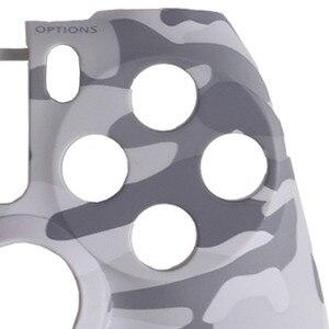 Image 3 - מול דיור פגז פנים מקרה כיסוי עור מגן Camo עליון עבור Sony פלייסטיישן 4 PS4 DualShock 4 V1 בקר הסוואה