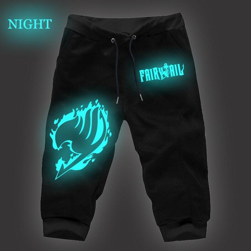 Fairy Tail Joggers Pants Luminous Black