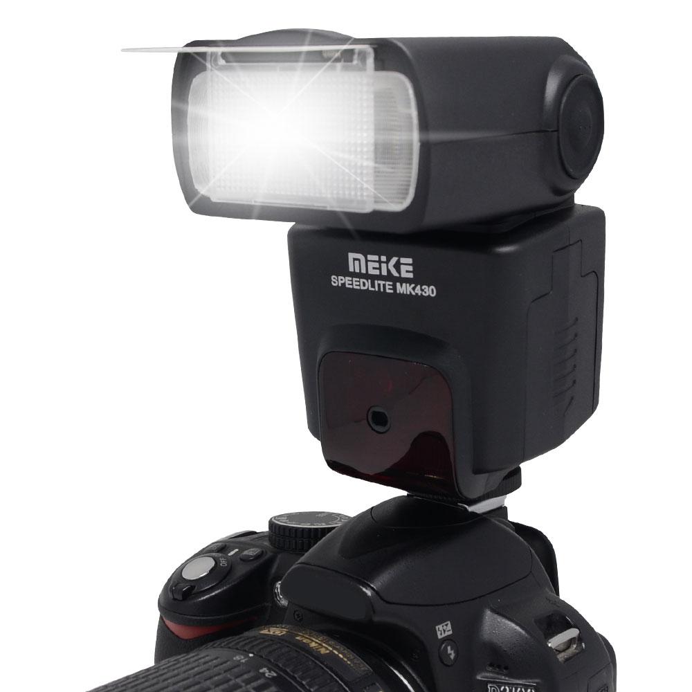 Mcoplus MEIKE MK-430 Flash Speedlite TTL for Canon 430EX II EOS 5D III 6D 60D 600D 650D 1100D T4i T3i T2i вспышка canon speedlite 430ex iii rt