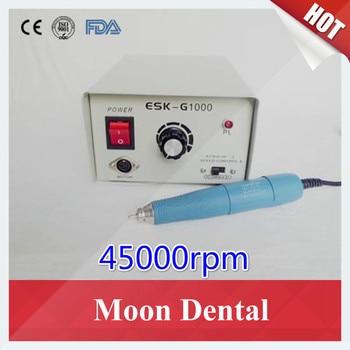 Original South Korea SAEYANG Micromotor 45,000RPM ESK-G1000/SM45C Dental Lab Micromotor for Polishing Nail/Skin/Denture/Glass