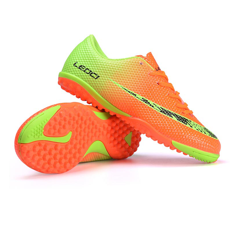 LEOCI Professional Boys futzalki football shoes sneakers indoor turf superfly futsal original football boots soccer cleats