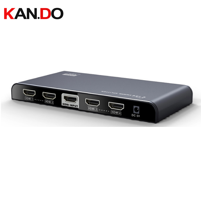 314-V2.0 Support 1X4 HDMI Splitter 4K x 2K @60Hz and 3D HDMI video splitter 4 channels HDMI splitter Converter 4 Ports 1x4 HDMI 1 x 4 hdmi splitter hdmi 1 4 with 3d 4k support