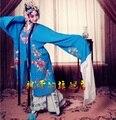 ZZB028 artistas de ópera de Pekín retrato de estudio ropa 7 Colores etapa drama fase dramma en traje de estilo Chino de la ópera de Prendas de vestir