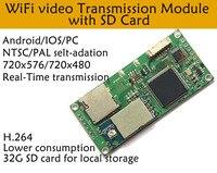 2.4g wifi av transmissor fpv imagem transimission moudle