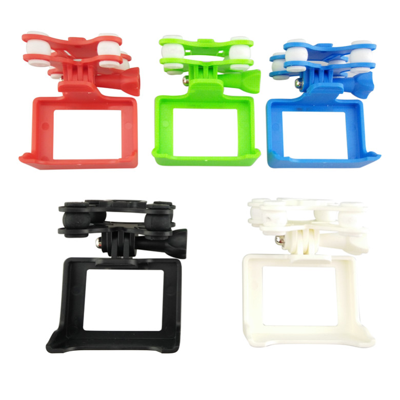 BLLRC Quadcopter Gimbal for SYMA X8SW X8W X8G Series With Camera Holder Compatible With SJ/XIAOYI Camera Gimble Spare Parts bullet camera tube camera headset holder with varied size in diameter