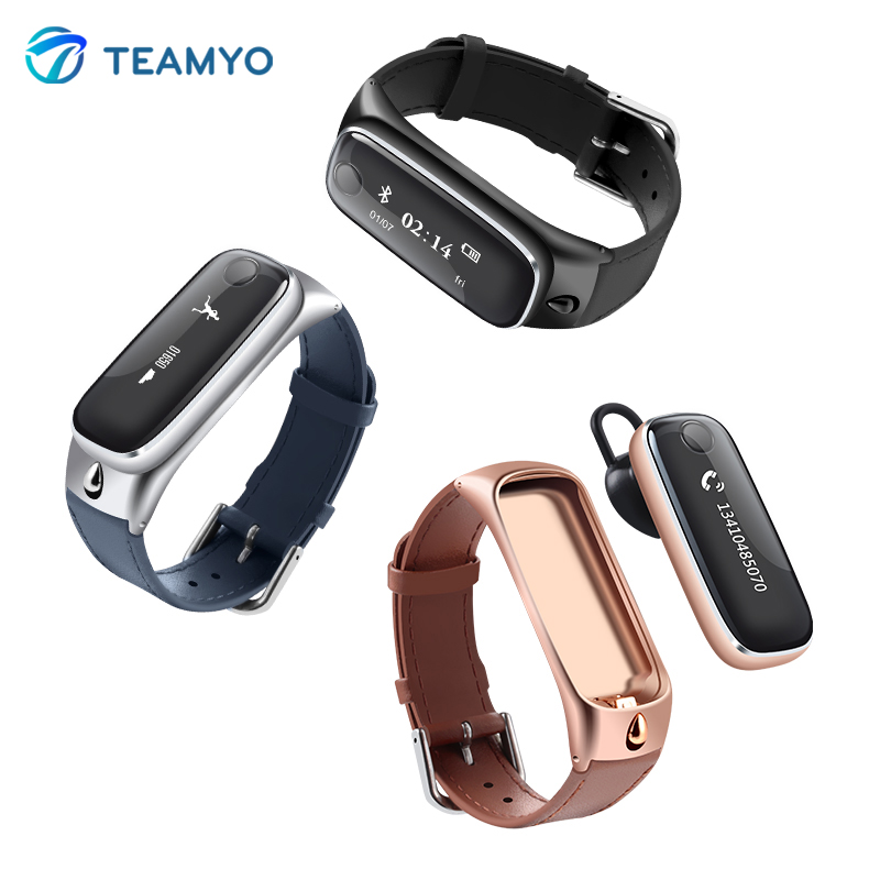 Teamyo New M6 Bluetooth Smart band Activity Fitness Tracker Smart Wristband Bracelet for IOS Android Better