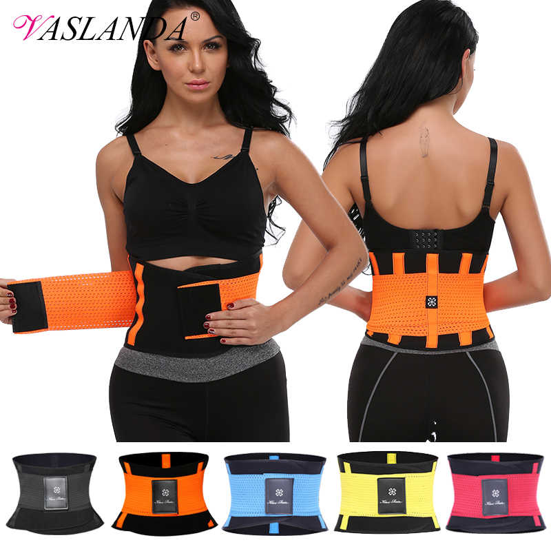 Breathable Waist Cincher Trimmer Tummy Control Girdle Lumbar Back Support Brace Slimmer Body Shaper Belt for Weight Loss Fitness Workout Postpartum Recovery S/&Z Plus Size Waist Trainer Belt for Women