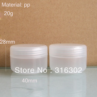 24 х макияж инструменты 20 г пластиковые баночки для кремов 20 кубиков пластиковых крем контейнер ясно белый черный крышка доступна