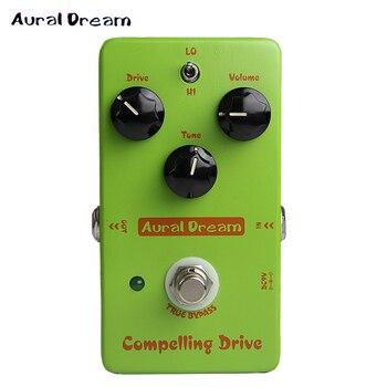Aural Dream aleación de aluminio compeller pedal de efecto guitarra eléctrica efecto único inteligente con Bypass verdadero