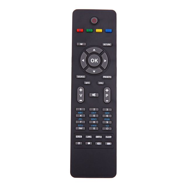 Universal TV Remote Control Replacement for Hitachi RC 1825 TVs Lcd Wireless Control Remote Black