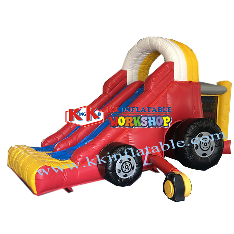 Small Project Activities Children's Inflatable Trolley Slide