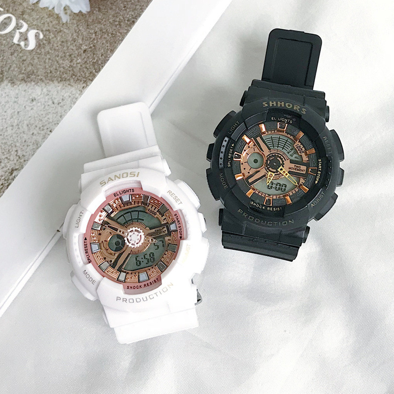 Ulzzang Women Middle School Students Electronic Watch Korean Version Of The Simple Junior High School Students Fashion Trend