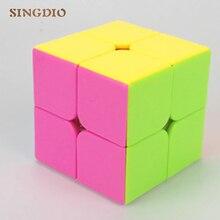 SINGDIO 2x2x2 puzzle magic cube Professional Magic Cast Coated 2 2 Speed Cube Learning Education IQ