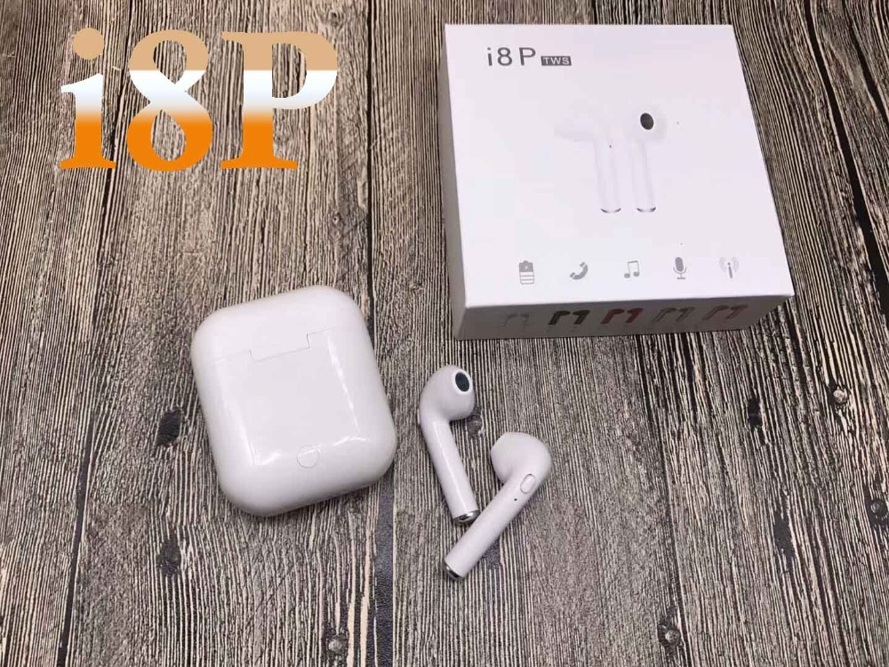 i8 i8P TWS Wireless Bluetooth Earbuds Earphone vs i8 i7 for iPhone X font b Android