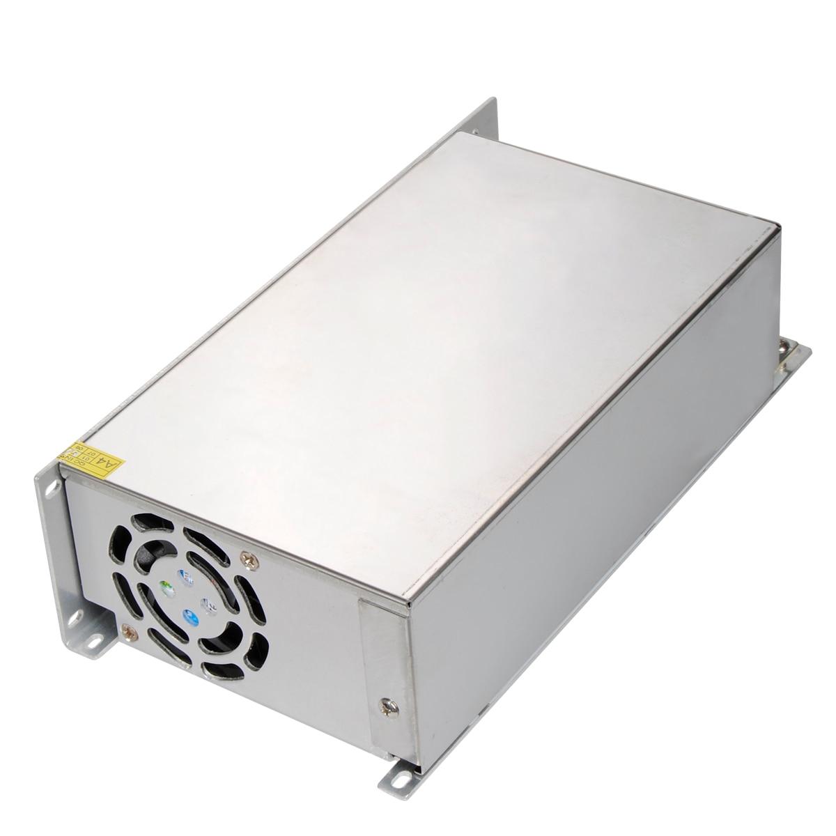 Jiguoor nouveauté 24 V 25A 600 W pilote d'alimentation à découpage pour bande de LED AC 100-240 V entrée à 24 V