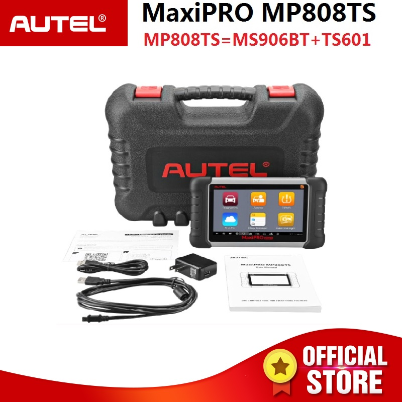 Autel MaxiPRO MP808TS Activation Programmation et tous les Système OBD Outil De Diagnostic Combiné de DS808/MS906 et TPMS activer capteur