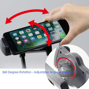 Image 3 - Baseus Flexible Mobile Phone Holder Universal Desk Phone Holder Stand Lazy Neck Bracket For iPhone Samsung iPad Tablet Holder
