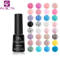 KADS 7ml LED UV Nail Gel Long Lasting Gel Lacquer DIY Nail Art Colorful Nail Gel UV Gel Set UV LED Lamp Curing