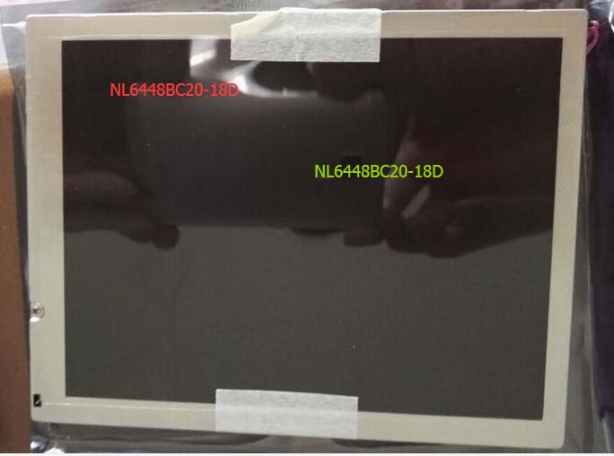 Origina nl6448BC20-18d. NL6448BC20-18D . LCD screen original 6 4inch lcd screen nl6448bc20 08e nl6448bc20 08 tft lcd screen industrial application control equipment lcd display