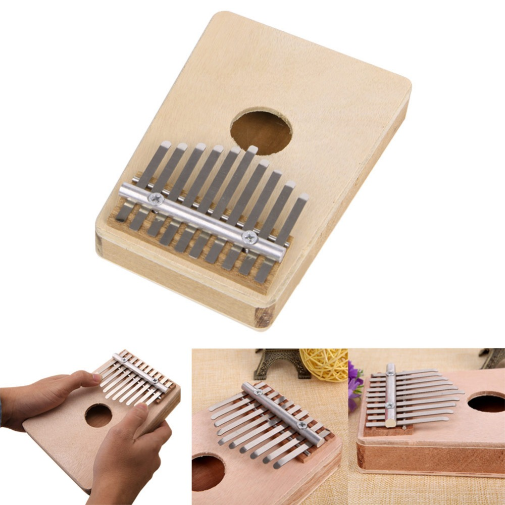 Amazon.com: Stebcece 10Keys Thumb Piano Traditional Simple Musical ...