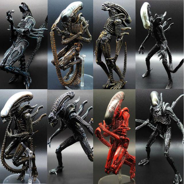 Alien Movie: Alien Vs Predator AVP ABS 20cm Action Figure Model