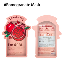 I'm REAL Skin Care Food Sheet Face Mask Moisturizing Oil Control Whitening Shrink Pores Korean Facial Mask tony moly Cosmetics