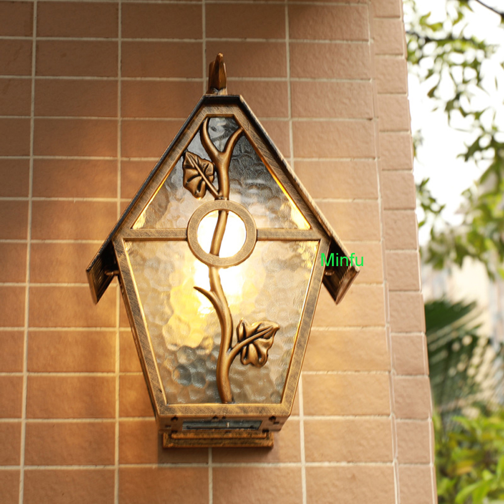 Art Deco outdoor wall lamp porch lights Garden Outdoor Wall Sconce ...