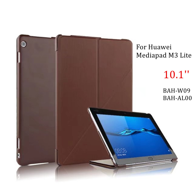 Case For Huawei Mediapad M3 Lite 10 Transform Stand Cover PU Leather Tablet Shell For Huawei M3 Lite 10.1'' BAH-W09/AL00